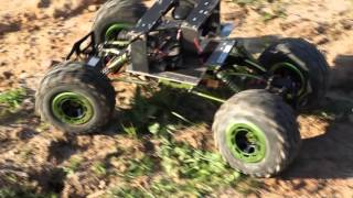 1/8 Scale Rock Crawler Rover Update, Now with Brushless Motors