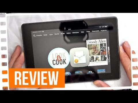 Amazon Kindle Fire HD - Review