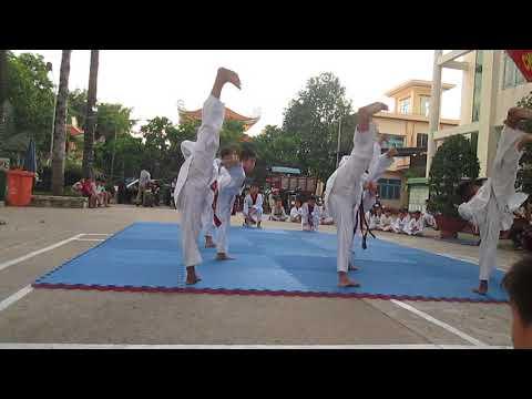 Biễu diễn giải taekwondo hè hóc môn 2018