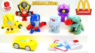 2018 McDONALD'S TRANSFORMERS HAPPY MEAL TOYS BUMBLEBEE MOVIE FULL SET