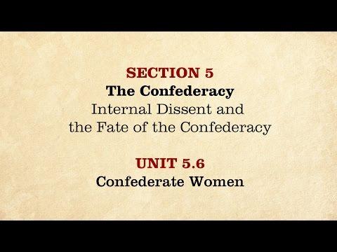 MOOC | Confederate Women | The Civil War and Reconstruction, 1861-1865 | 2.5.6
