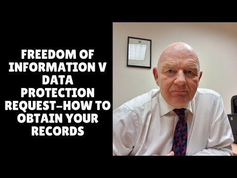 Freedom of Information V Data Protection in Ireland-How to Obtain Your Work Records