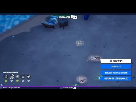 How to cancel the ancient space ship launch part 22   Fortnite    