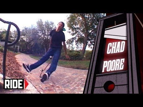 Skateboarder Gets Credit Carded - Chad Poore