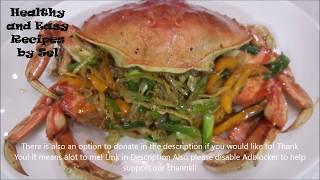 Ginger Green Onion Crab Stir Fry Recipe