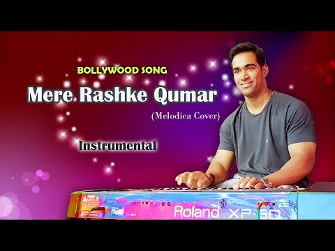 Mere Rashke Qamar Instrumental | Melodica Cover | Hindi Bollywood Song