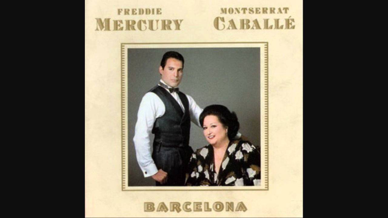 Image result for mercury caballe barcelona album