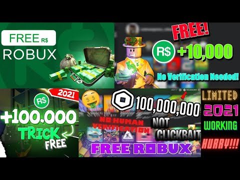 HOW TO GET FREE ROBUX  IN ROBLOX 2020 AND WORKING NOT CLICKBAIT thumbnail
