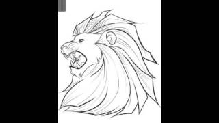 How To Draw Cartoon aslan