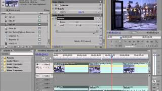 RADDAXRU Adobe Premiere Видео урок  Статические спецэффекты