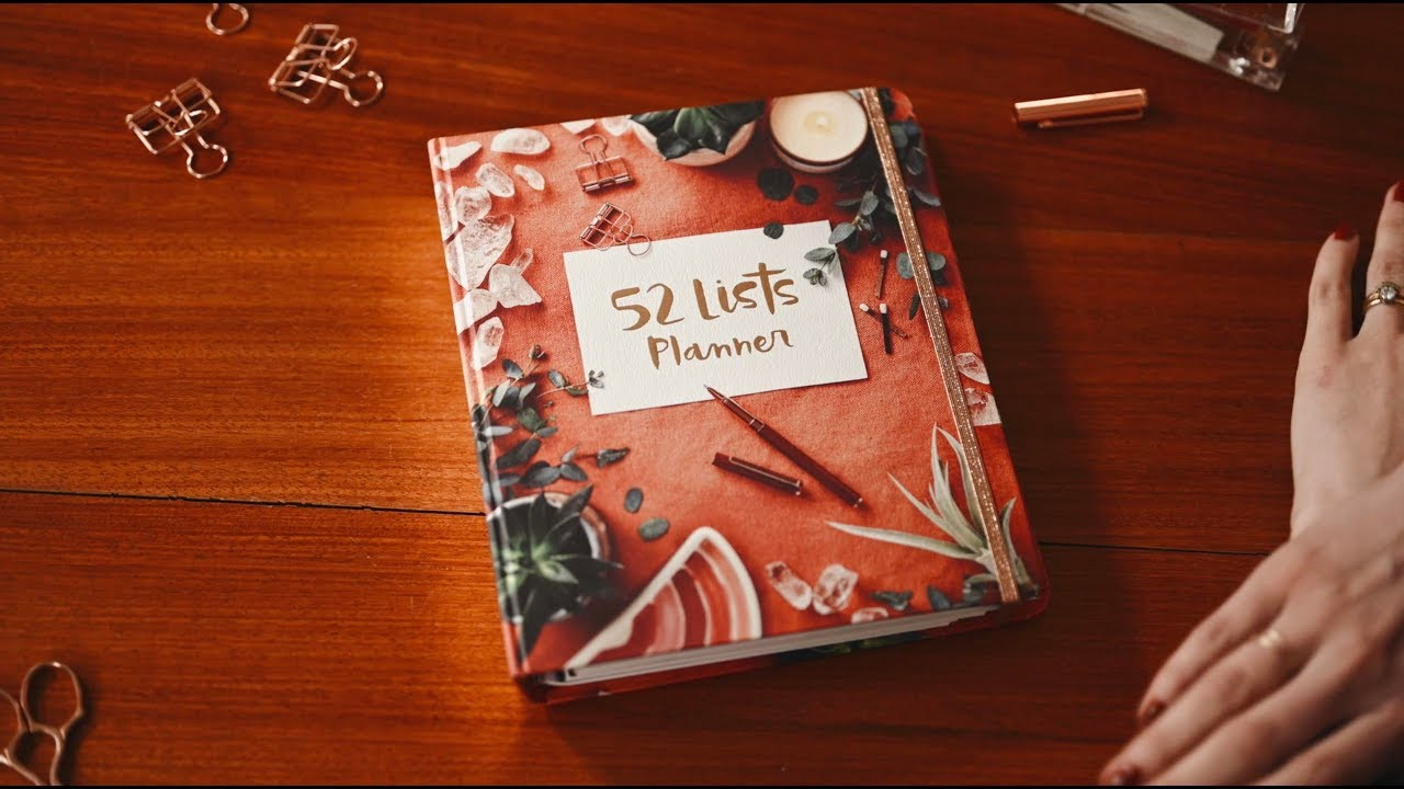 52 Lists Planner By Moorea Seal Official 60 Second Trailer