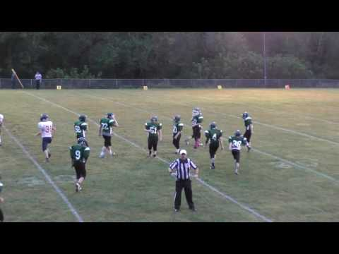 Walton Elementary Middle School Football vs  Spencer Middle School 9-29-2016