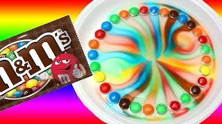 The most cool video! Easy DIY M&M's Rainbow. Awesome experiment for kids. Trick for children