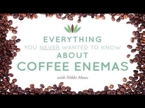 Live to 110 Pocast #29: Everything You NEVER Wanted to Know about Coffee Enemas with Nikki Moses