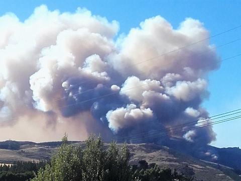 Image result for port hills fire