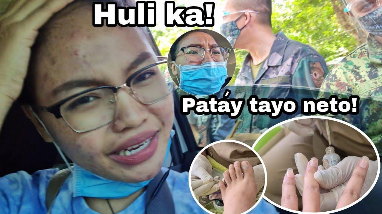 First time MagpaPolyGelNails+ Nahuli ng Pulís(Kulong na ba?!)