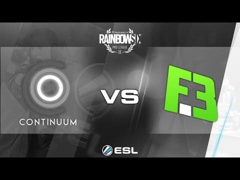 Rainbow Six Pro League - Season 2 - PC - NA - Continuum vs. FlipSid3 Tactics - Week 5