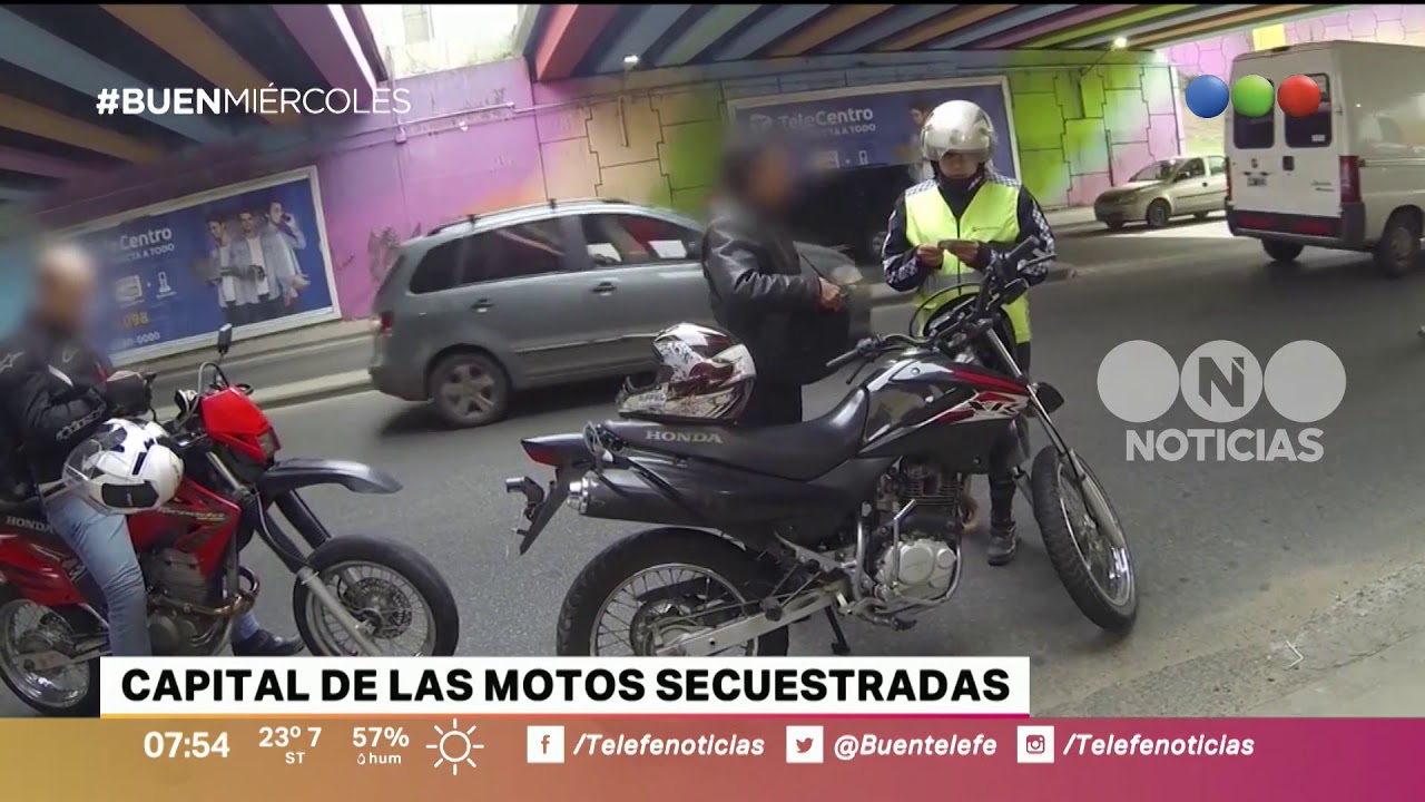 Capital de las motos secuestradas - Buen Telefe - YouTube
