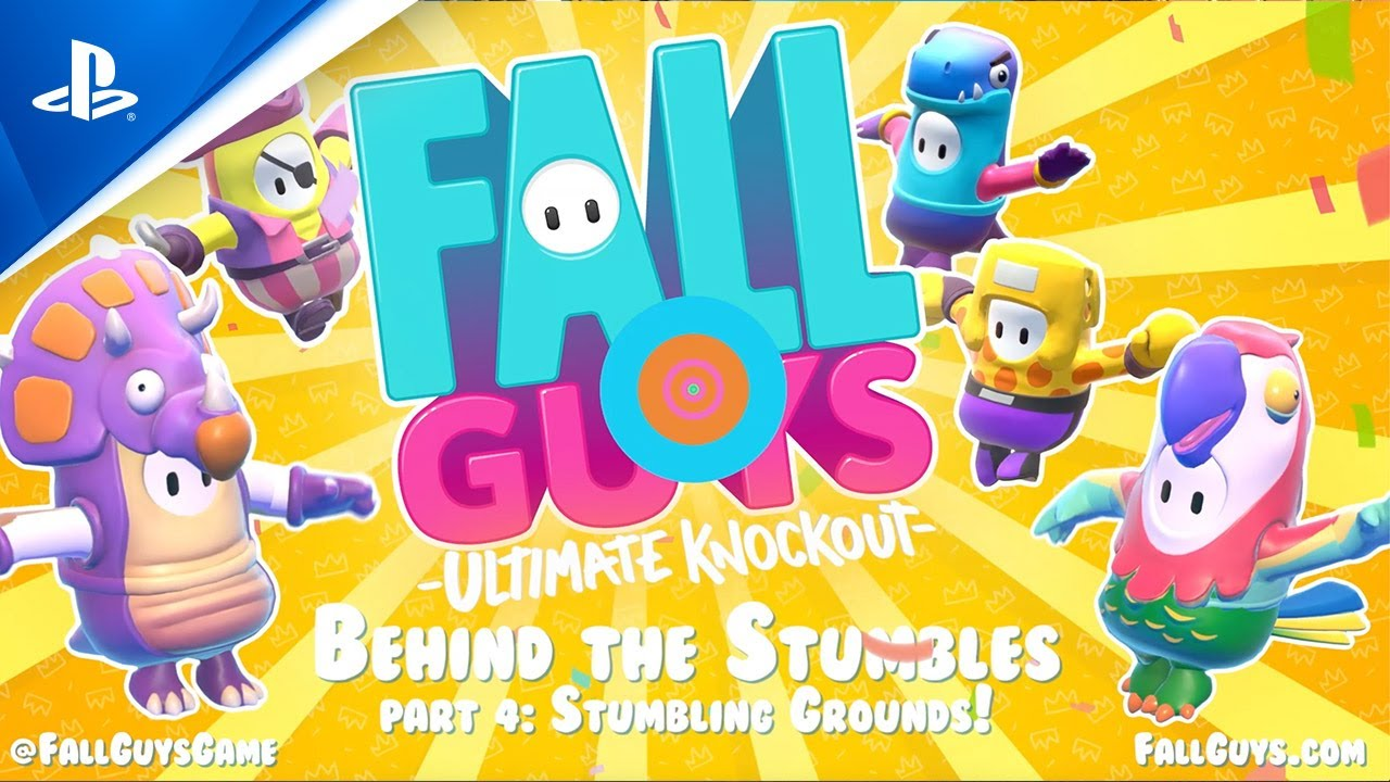 Fall Guys - Behind the Stumbles: Stumble Grounds | PS4