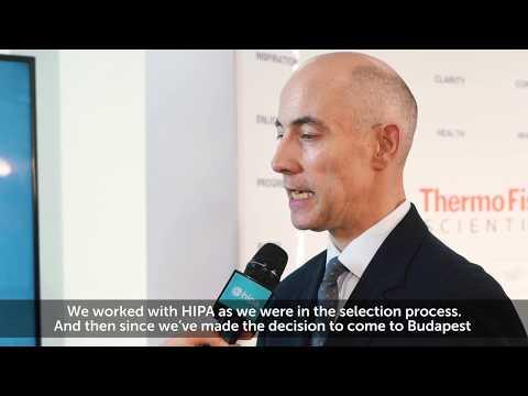 HIPA NEWS - Thermo Fisher chose Hungary to serve the EMEA region