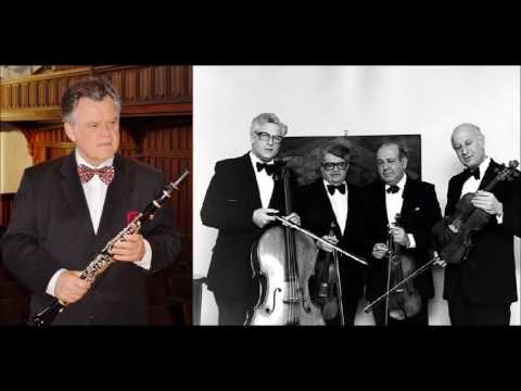 Johannes Brahms Quintet for Clarinet & String Q. in B minor Op.115, Karl Leister/Amadeus Q