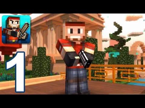 Pixel Gun 3D - Gameplay Walkthrough Part 1 - Tutorial, Multiplayer (iOS, Android)