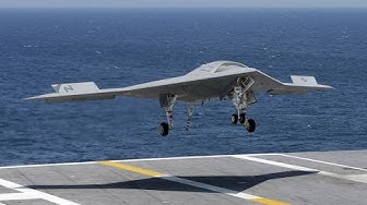 X 47B drone take off and landing on aircraft carrier