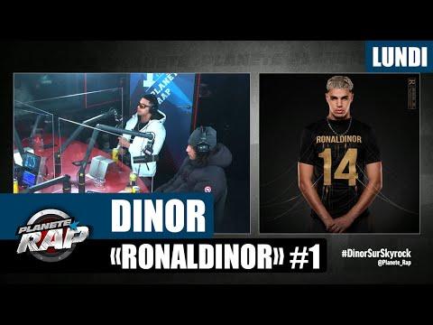 Youtube: Planète Rap – Dinor«Ronaldinor» avec ISK #Lundi