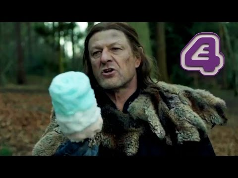 Sean Bean Feeds Morph Candy Floss And Stages An Intervention | Wasted