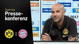 Pressekonferenz mit Peter Bosz vor dem Supercup | Borussia Dortmund - FC Bayern München