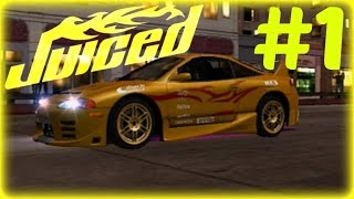 Juiced Playstation 2 Walkthrough Part 1 - Welcome to Angel City!
