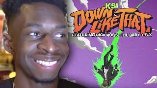 Download Tobi TBJZL Of Sidemen Reacts KSI Down Like That & Rick Ross Attending KSI Vs Logan Paul Rematch Mp3 and Videos
