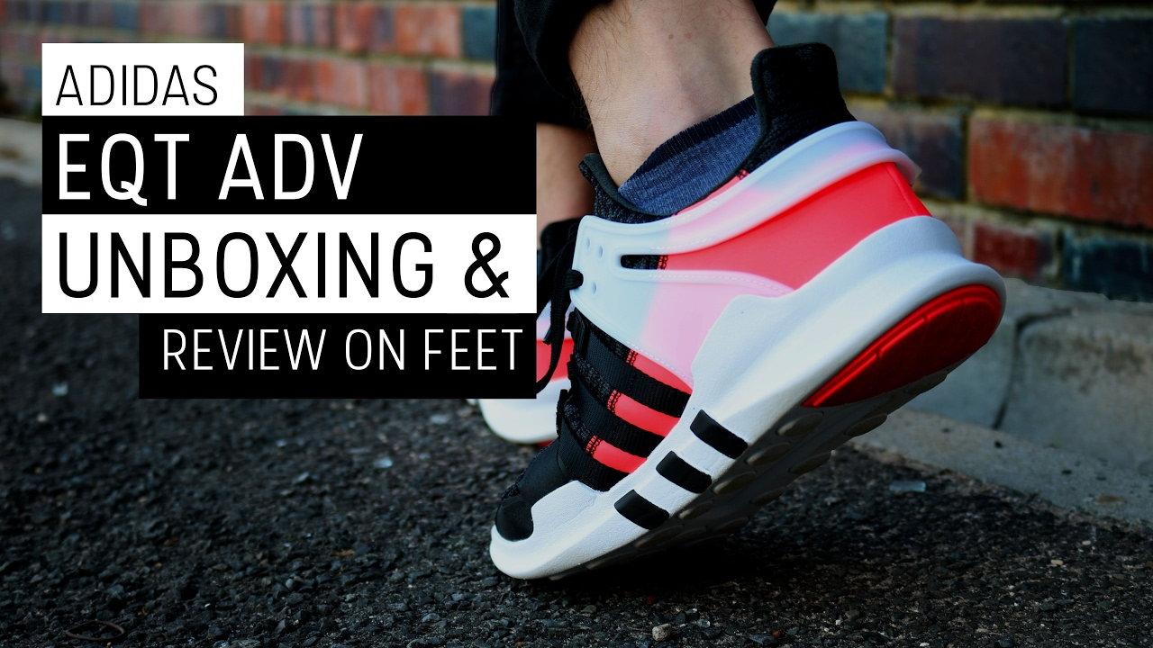 purchase cheap 8ca70 85e60 Adidas EQT ADV UNBOXING and Review ON FEET