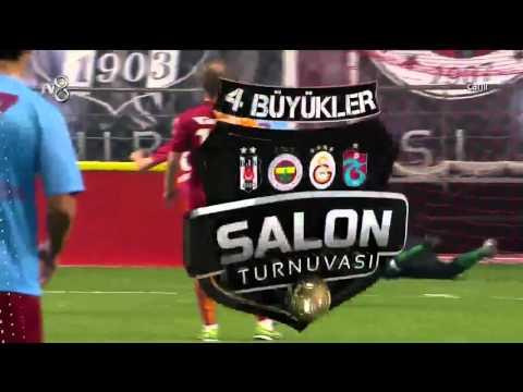Galatasaray 6-5 Trabzonspor 4 Büyükler Futbol Turnuvası 05.01.2016