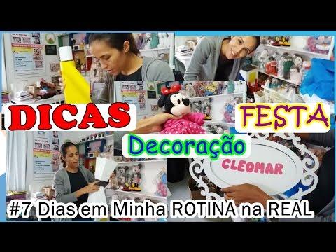 DICAS de Decoração de Festa Infantil   DECORADORES INICIANTES   7 Dias em Minha ROTINA na REAL