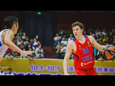 China Tour Highlights: Sichuan Blue Whales-CSKA Moscow