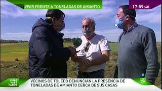 El amianto, un peligro como vecino en un barrio de Toledo