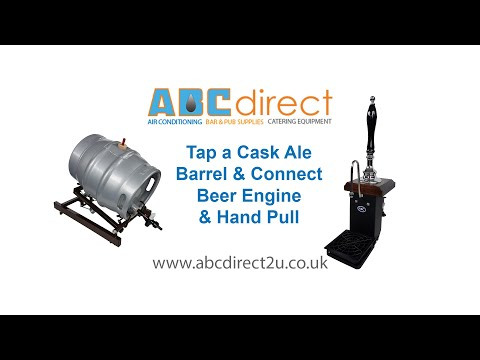 How To Tap A Beer Cask, Set Up Dispense Taps And Connect Hand Pull And Beer Engine For Serving