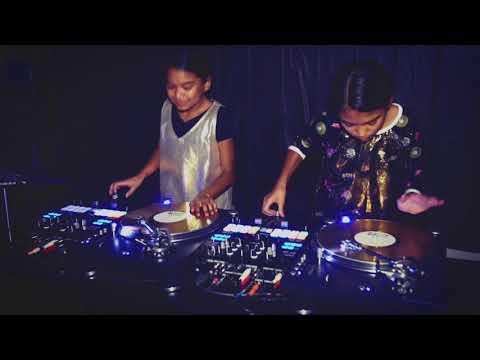 Amira & Kayla Practicing To DJ ENVY