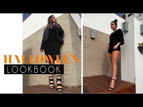 4 looks All Black fáciles y cool para Halloween | That Style