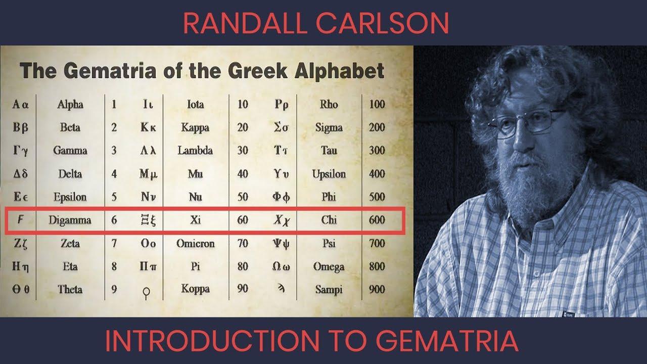 Randall Carlson - Gematria, The Hidden Mathematics of Scripture