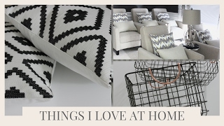 THINGS I LOVE IN MY HOME | JANUARY 2017