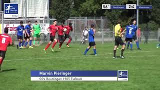 A-Junioren - 2:4  Marvin Pieringer  - SSV Reutlingen 1905 Fußball vs SV Waldhof Mannheim