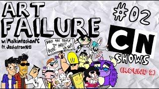 L'ART de l'ÉCHEC | PLUS Cartoon Network Montre! ROUND 2 (avec Joshatron1013)