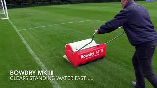 Rullo per asciugare campo da tennis