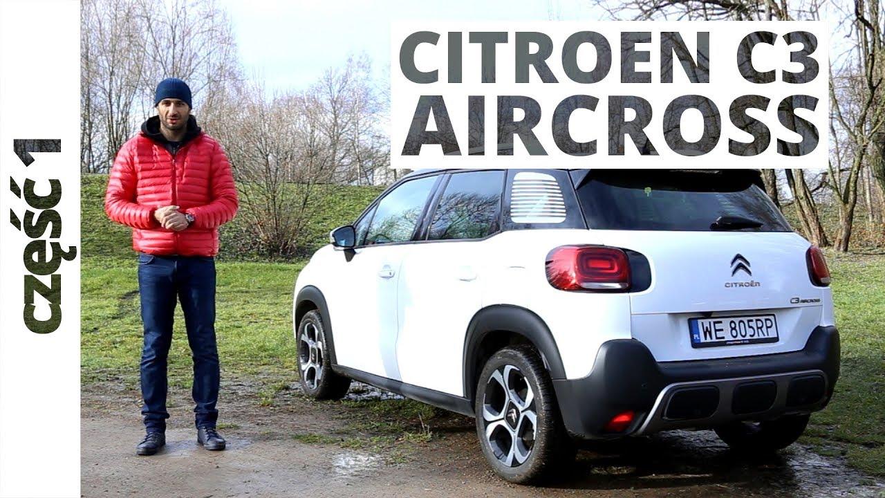 citroen c3 aircross 1 2 puretech 130 km 2017 test. Black Bedroom Furniture Sets. Home Design Ideas