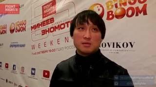 Сангаджи Тарбаев о турнире FIGHT NIGHTS GLOBAL 53 Weekend