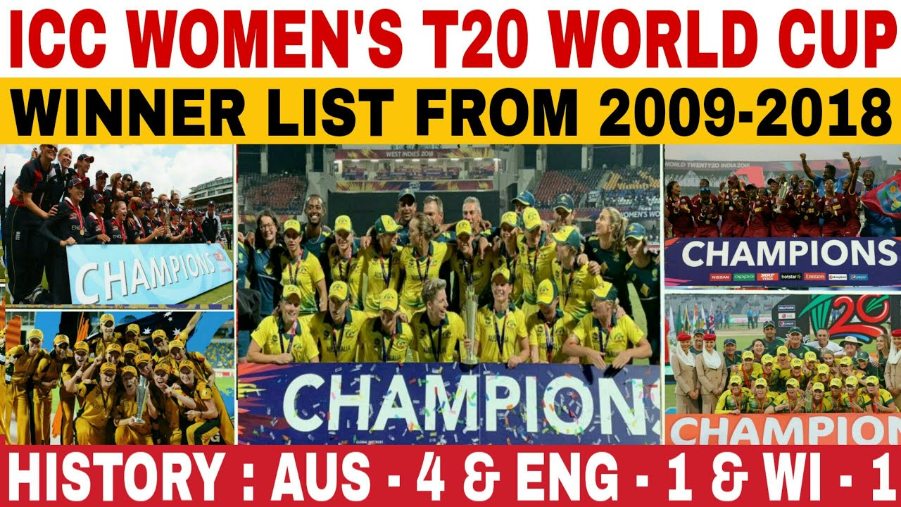 Photos of the world cup winner teams list cricket odi