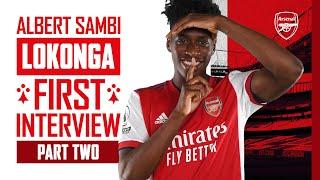 Albert Sambi Lokonga   'I can't wait to link-up with Pepe, Auba, Laca, Saka, all the players!'