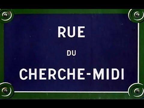 Rue du Cherche Midi Paris Arrondissements  6e, 15e